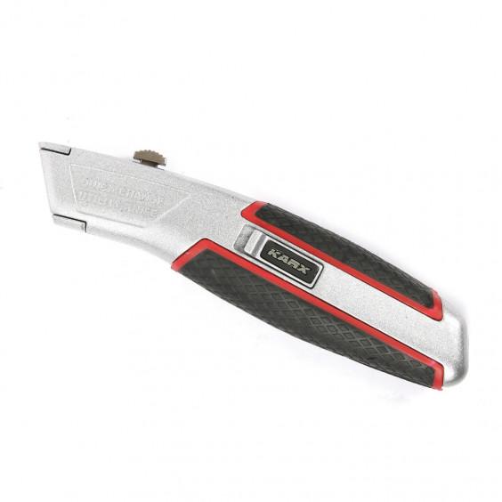Couteau rétractable + 3 lames