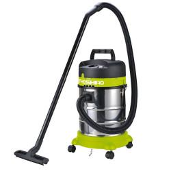 Aspirateur eau et poussière 1400W - 30L inox