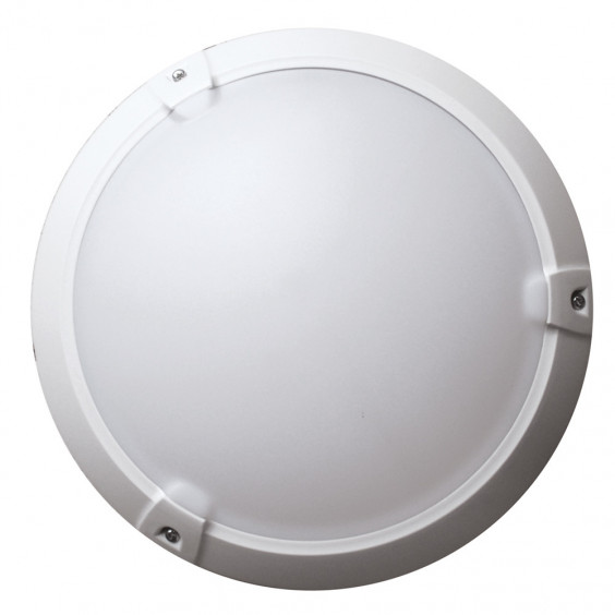Hublot plastique blanc 60W - Classe II - IP 65