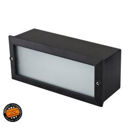 Projecteur à encastrer 6W LED noir