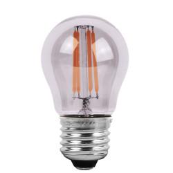 Ampoules LED à filaments E27 - Verre transparent
