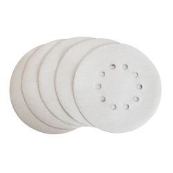 Lot de 5 disques abrasifs blanc Ø225mm G240 pour 2350006, 235020 et 235021