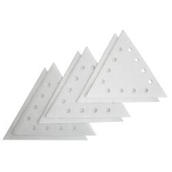 Lot de 6 disques abrasifs blanc pour 235021