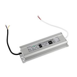 Transformateur pour ruban LED - 150W - 24V DC/6.25A - IP66