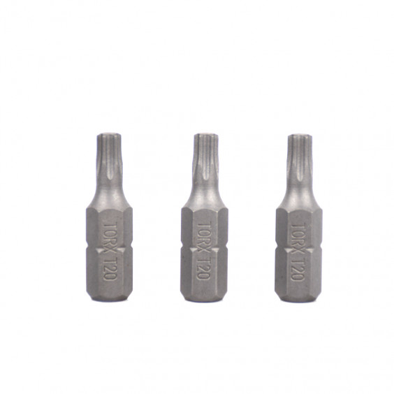 Lot de 3 embouts T20X25mm