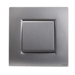 Poussoir + plaque finition