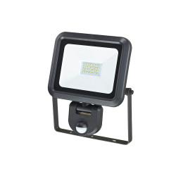 PROJECTEUR LED EXTRA PLAT 20W+DETECTEUR+CABLE 50CM