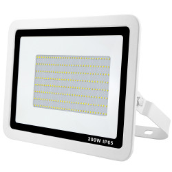 NEW PROJ LED EXTRA PLAT 200W BLANC+CABLE 50CM