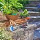 Plantoir à bulbes inox