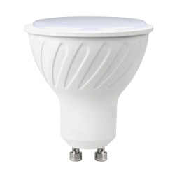 Ampoule LED GU10 7W blanc chaud - variable