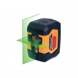 Niveau laser en croix faisceau vert