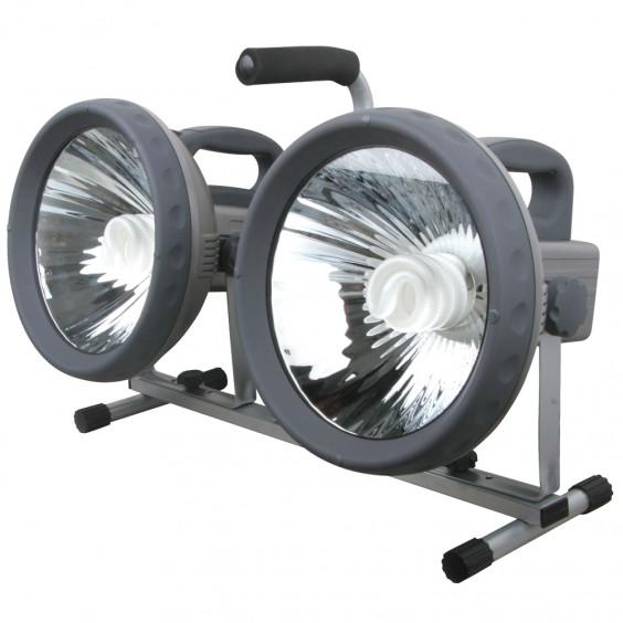 Projecteur à économie d'ernergie double 2x36W