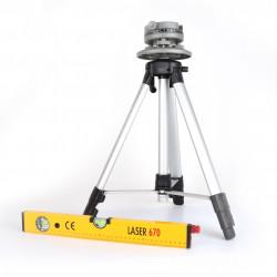 Coffret Niveau Laser et Trépieds Telescopique