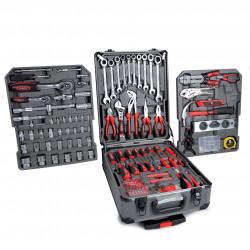 Malette outils Alu 186 pieces - Boite a outils complète bricolage