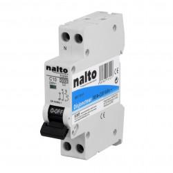 Disjoncteur 10A 1P+N NALTO