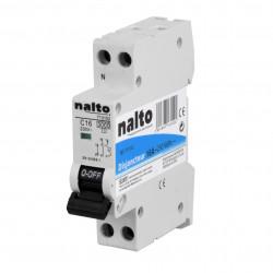 Disjoncteur 16A 1P+N NALTO