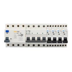 Kit Composition Coffret Electrique Piscine Triphasé - Interrupteur Différentiel et Disjoncteur - NALTO