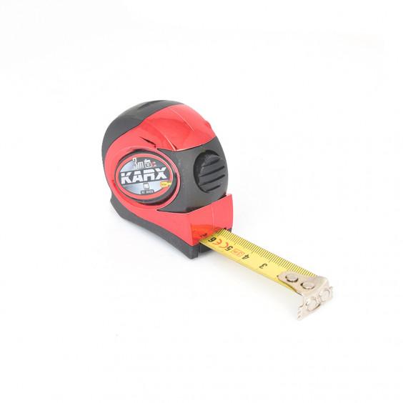 Mètre Ruban Métal 3m x 16mm Boîtier bi-matière KARX