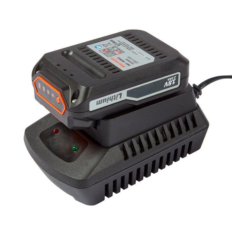 Coupe Bordure Sans Fil 18V Li ion + Batterie 18V 2Ah +